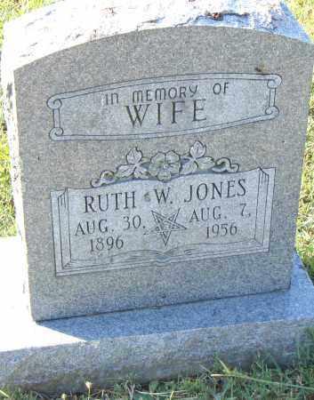 JONES, RUTH - Pulaski County, Arkansas   RUTH JONES - Arkansas Gravestone Photos