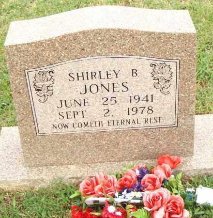 JONES, SHIRLEY B. - Pulaski County, Arkansas | SHIRLEY B. JONES - Arkansas Gravestone Photos