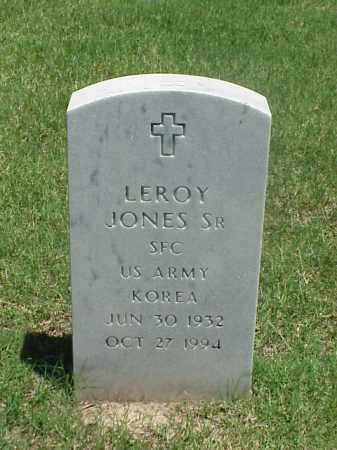 JONES, SR (VETERAN KOR), LEROY - Pulaski County, Arkansas   LEROY JONES, SR (VETERAN KOR) - Arkansas Gravestone Photos