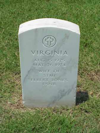 JONES, VIRGINIA - Pulaski County, Arkansas | VIRGINIA JONES - Arkansas Gravestone Photos
