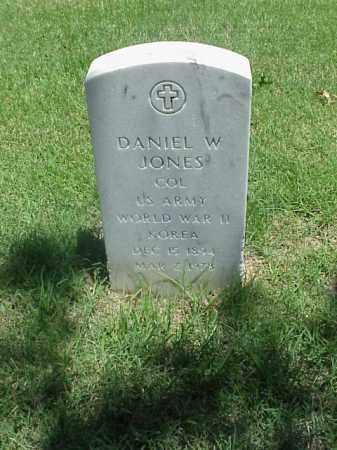 JONES (VETERAN 2 WARS), DANIEL W - Pulaski County, Arkansas | DANIEL W JONES (VETERAN 2 WARS) - Arkansas Gravestone Photos
