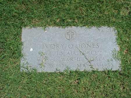 JONES (VETERAN 2 WARS), IVORY O - Pulaski County, Arkansas | IVORY O JONES (VETERAN 2 WARS) - Arkansas Gravestone Photos