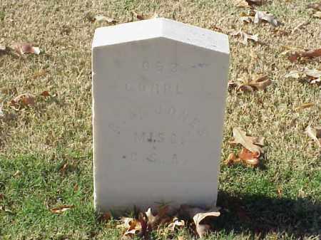 JONES (VETERAN CSA), B A - Pulaski County, Arkansas | B A JONES (VETERAN CSA) - Arkansas Gravestone Photos