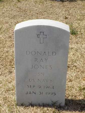 JONES (VETERAN), DONALD RAY - Pulaski County, Arkansas   DONALD RAY JONES (VETERAN) - Arkansas Gravestone Photos