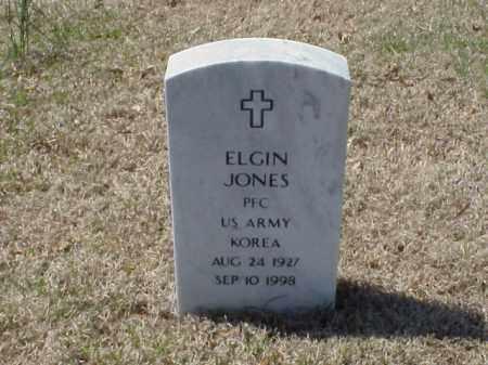 JONES (VETERAN KOR), ELGIN - Pulaski County, Arkansas | ELGIN JONES (VETERAN KOR) - Arkansas Gravestone Photos