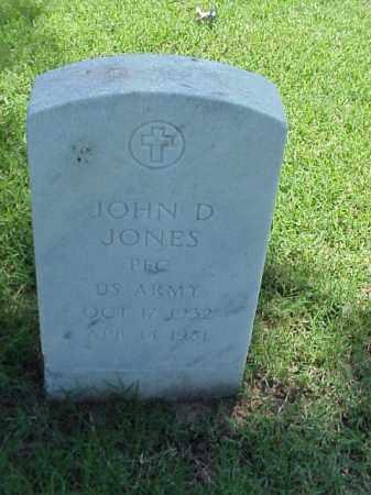 JONES (VETERAN KOR), JOHN D - Pulaski County, Arkansas | JOHN D JONES (VETERAN KOR) - Arkansas Gravestone Photos
