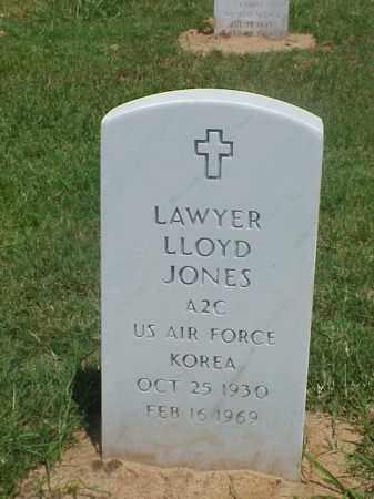 JONES (VETERAN KOR), LAWYER LLOYD - Pulaski County, Arkansas   LAWYER LLOYD JONES (VETERAN KOR) - Arkansas Gravestone Photos