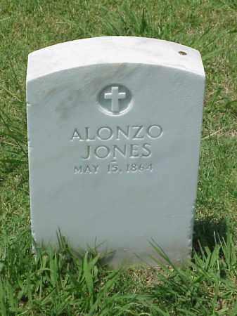 JONES (VETERAN UNION), ALONZO - Pulaski County, Arkansas   ALONZO JONES (VETERAN UNION) - Arkansas Gravestone Photos
