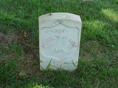 JONES (VETERAN UNION), JOHN W - Pulaski County, Arkansas | JOHN W JONES (VETERAN UNION) - Arkansas Gravestone Photos