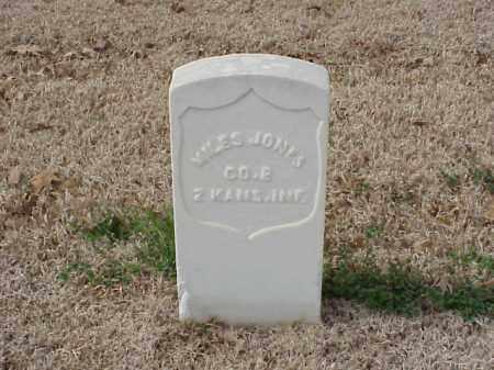 JONES (VETERAN UNION), MILES - Pulaski County, Arkansas   MILES JONES (VETERAN UNION) - Arkansas Gravestone Photos