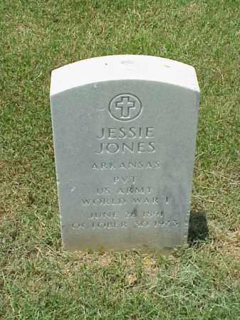 JONES (VETERAN WWI), JESSIE - Pulaski County, Arkansas   JESSIE JONES (VETERAN WWI) - Arkansas Gravestone Photos