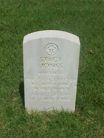 JONES (VETERAN WWI), STACY - Pulaski County, Arkansas | STACY JONES (VETERAN WWI) - Arkansas Gravestone Photos
