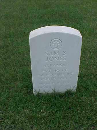 JONES (VETERAN WWI), SAM S - Pulaski County, Arkansas | SAM S JONES (VETERAN WWI) - Arkansas Gravestone Photos