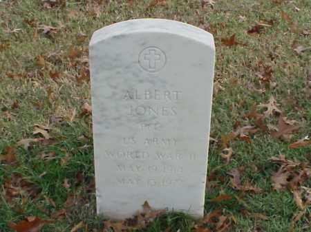 JONES (VETERAN WWII), ALBERT - Pulaski County, Arkansas   ALBERT JONES (VETERAN WWII) - Arkansas Gravestone Photos
