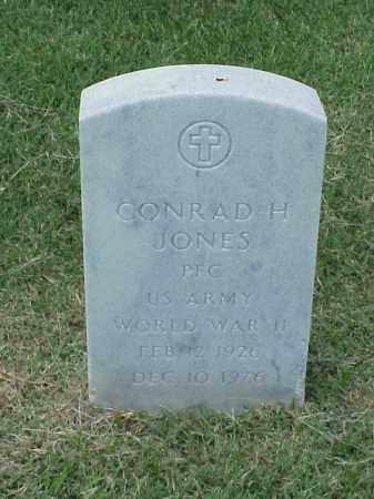 JONES (VETERAN WWII), CONRAD HUGHES - Pulaski County, Arkansas | CONRAD HUGHES JONES (VETERAN WWII) - Arkansas Gravestone Photos