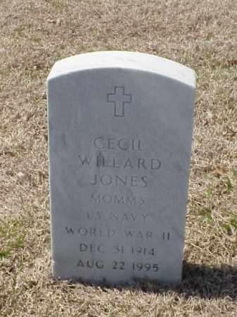 JONES (VETERAN WWII), CECIL WILLARD - Pulaski County, Arkansas   CECIL WILLARD JONES (VETERAN WWII) - Arkansas Gravestone Photos