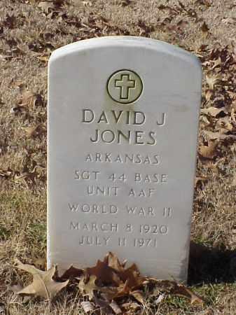JONES (VETERAN WWII), DAVID JAMES - Pulaski County, Arkansas | DAVID JAMES JONES (VETERAN WWII) - Arkansas Gravestone Photos