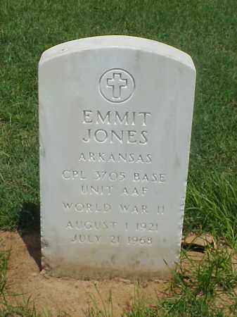 JONES (VETERAN WWII), EMMIT - Pulaski County, Arkansas | EMMIT JONES (VETERAN WWII) - Arkansas Gravestone Photos