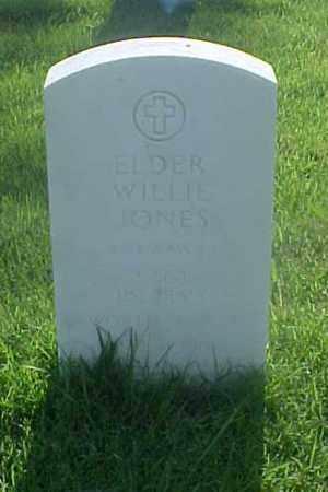 JONES (VETERAN WWII), ELDER WILLIE - Pulaski County, Arkansas | ELDER WILLIE JONES (VETERAN WWII) - Arkansas Gravestone Photos