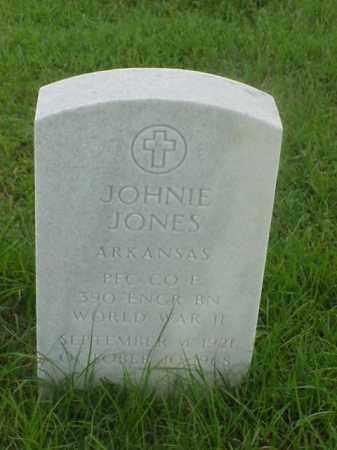 JONES (VETERAN WWII), JOHNIE - Pulaski County, Arkansas | JOHNIE JONES (VETERAN WWII) - Arkansas Gravestone Photos
