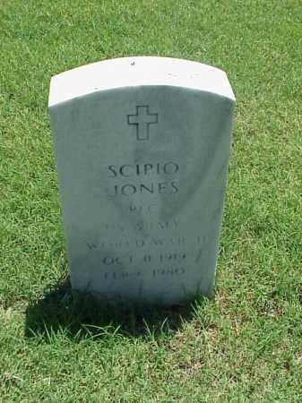 JONES (VETERAN WWII), SCIPIO - Pulaski County, Arkansas   SCIPIO JONES (VETERAN WWII) - Arkansas Gravestone Photos