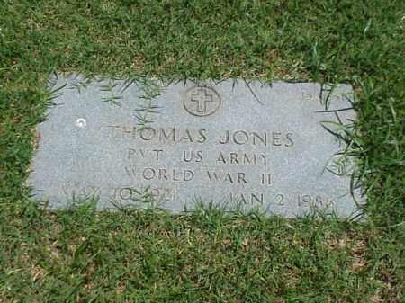 JONES (VETERAN WWII), THOMAS - Pulaski County, Arkansas   THOMAS JONES (VETERAN WWII) - Arkansas Gravestone Photos