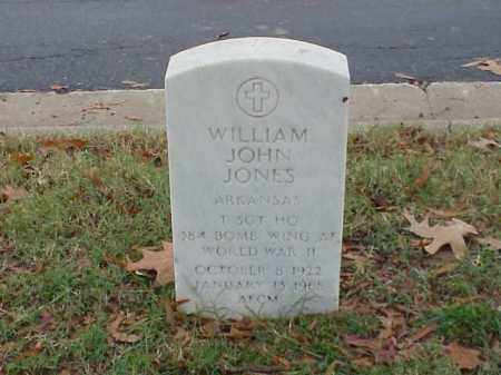 JONES (VETERAN WWII), WILLIAM JONES - Pulaski County, Arkansas | WILLIAM JONES JONES (VETERAN WWII) - Arkansas Gravestone Photos