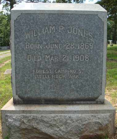 JONES, WILLIAM P. - Pulaski County, Arkansas | WILLIAM P. JONES - Arkansas Gravestone Photos
