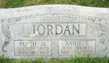 JORDAN, JR., PEACH - Pulaski County, Arkansas | PEACH JORDAN, JR. - Arkansas Gravestone Photos