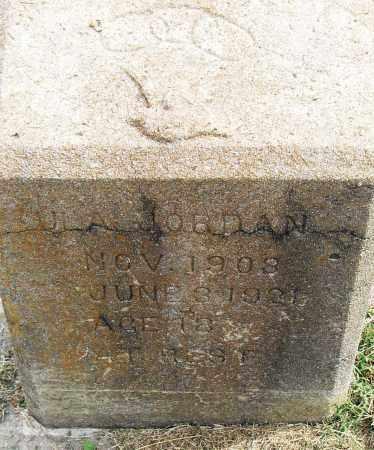 JORDAN, ULA - Pulaski County, Arkansas | ULA JORDAN - Arkansas Gravestone Photos