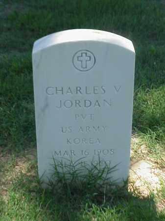 JORDAN (VETERAN KOR), CHARLES V - Pulaski County, Arkansas   CHARLES V JORDAN (VETERAN KOR) - Arkansas Gravestone Photos