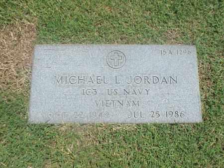 JORDAN (VETERAN VIET), MICHAEL L - Pulaski County, Arkansas   MICHAEL L JORDAN (VETERAN VIET) - Arkansas Gravestone Photos