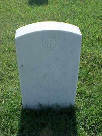 JORDAN (VETERAN WWI), TOM - Pulaski County, Arkansas   TOM JORDAN (VETERAN WWI) - Arkansas Gravestone Photos