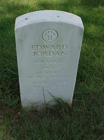 JORDAN (VETERAN WWII), EDWARD - Pulaski County, Arkansas | EDWARD JORDAN (VETERAN WWII) - Arkansas Gravestone Photos