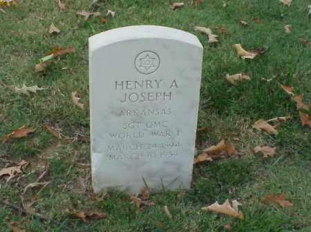 JOSEPH (VETERAN WWI), HENRY A - Pulaski County, Arkansas   HENRY A JOSEPH (VETERAN WWI) - Arkansas Gravestone Photos