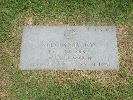 JOY (VETERAN WWII), SYLVESTER - Pulaski County, Arkansas | SYLVESTER JOY (VETERAN WWII) - Arkansas Gravestone Photos