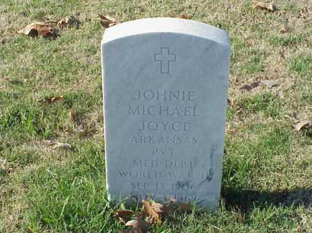 JOYCE (VETERAN WWII), JOHNIE MICHAEL - Pulaski County, Arkansas | JOHNIE MICHAEL JOYCE (VETERAN WWII) - Arkansas Gravestone Photos