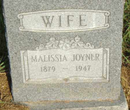 JOYNER, MALISSIA - Pulaski County, Arkansas | MALISSIA JOYNER - Arkansas Gravestone Photos