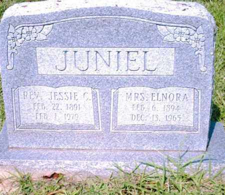 JUNIEL, REV., JESSIE  C. - Pulaski County, Arkansas | JESSIE  C. JUNIEL, REV. - Arkansas Gravestone Photos