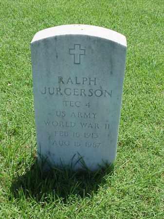JURGERSON (VETERAN WWII), RALPH - Pulaski County, Arkansas | RALPH JURGERSON (VETERAN WWII) - Arkansas Gravestone Photos