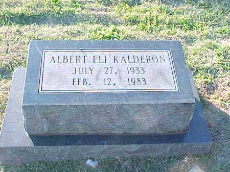 KALDERON, ALBERT ELI - Pulaski County, Arkansas | ALBERT ELI KALDERON - Arkansas Gravestone Photos