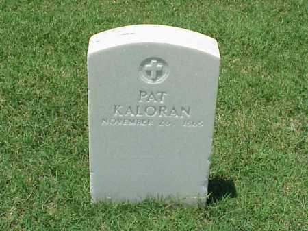 KALORAN (VETERAN UNION), PAT - Pulaski County, Arkansas | PAT KALORAN (VETERAN UNION) - Arkansas Gravestone Photos