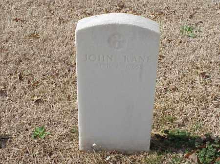 KANE (VETERAN), JOHN - Pulaski County, Arkansas | JOHN KANE (VETERAN) - Arkansas Gravestone Photos