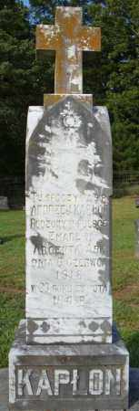 KAPLON, ANDREA J - Pulaski County, Arkansas | ANDREA J KAPLON - Arkansas Gravestone Photos