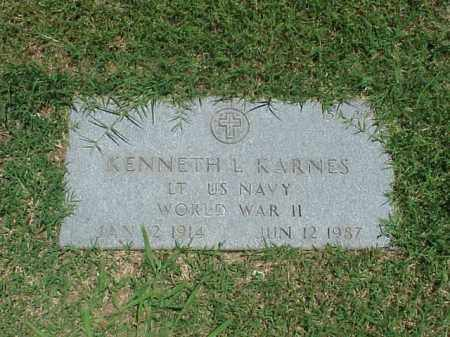 KARNES (VETERAN WWII), KENNETH L - Pulaski County, Arkansas | KENNETH L KARNES (VETERAN WWII) - Arkansas Gravestone Photos