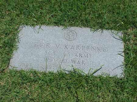 KARPENKO (VETERAN WWII), IGOR V - Pulaski County, Arkansas   IGOR V KARPENKO (VETERAN WWII) - Arkansas Gravestone Photos