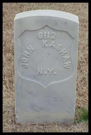KASHAW (VETERAN UNION), JOHN - Pulaski County, Arkansas   JOHN KASHAW (VETERAN UNION) - Arkansas Gravestone Photos