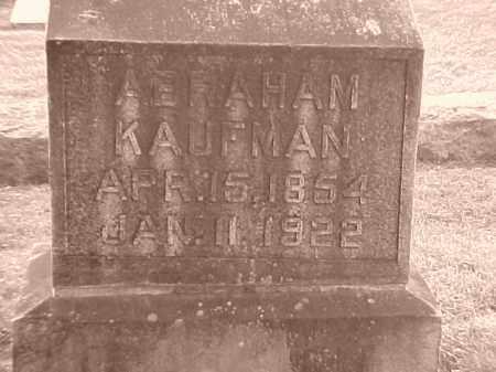 KAUFMAN, ABRAHAM - Pulaski County, Arkansas   ABRAHAM KAUFMAN - Arkansas Gravestone Photos