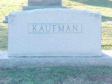 KAUFMAN FAMILY STONE,  - Pulaski County, Arkansas |  KAUFMAN FAMILY STONE - Arkansas Gravestone Photos
