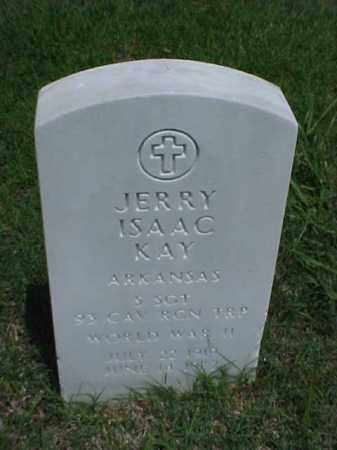 KAY (VETERAN WWII), JERRY ISAAC - Pulaski County, Arkansas | JERRY ISAAC KAY (VETERAN WWII) - Arkansas Gravestone Photos
